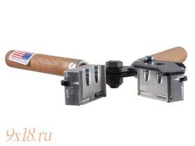 "Пулелейка ручная Lee (США) калибр 9,09 мм - .358"", два гнезда, вес пули 125 гран (8.1 грамма), плоская головная часть"